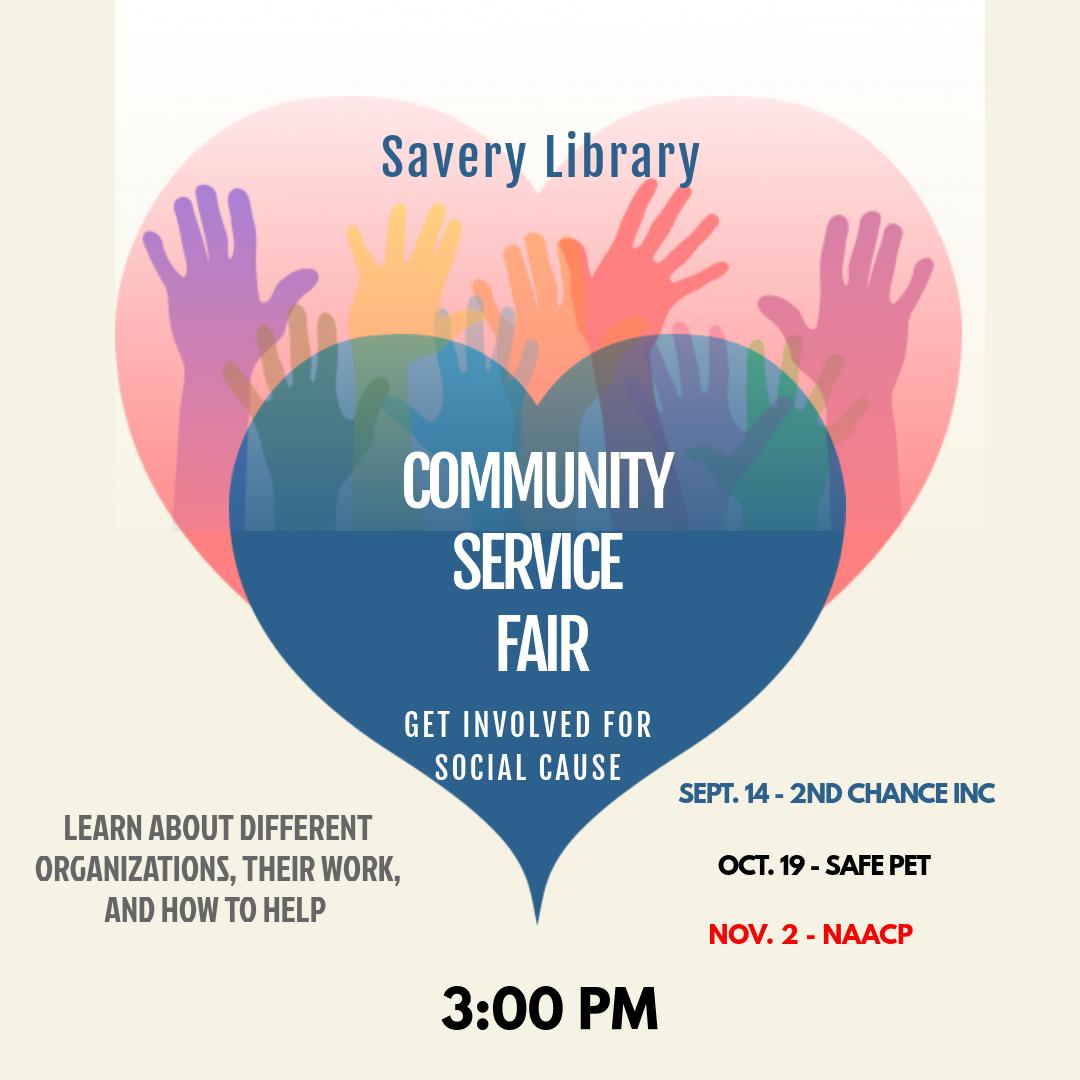 Community Service Fair: NAACP