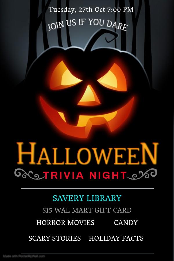 Trivia Night: Halloween Edition